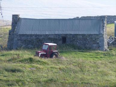 Traditional Uist shed
