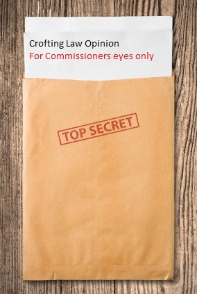 Top secret crofting law