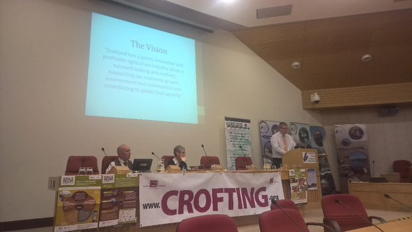 Future of Crofting Conference - Gordon Jackson - Vision