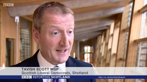 Tavish Scott MSP speaks to BBC Reporting Scotland about the crisis at the Crofting Commission