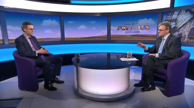 Sunday Politics Scotland - Crofting Commission Crisis - Brian Inkster and Gordon Brewer