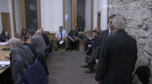 BBC Alba - Commission Chaos - 141216 - Cross Party Meeting