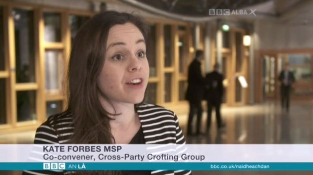 BBC Alba - Commission Chaos - 141216 - Kate Forbes MSP