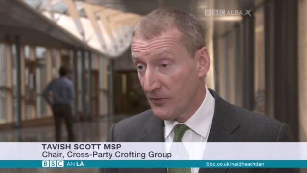 BBC Alba - Commission Chaos - 141216 - Tavish Scott MSP