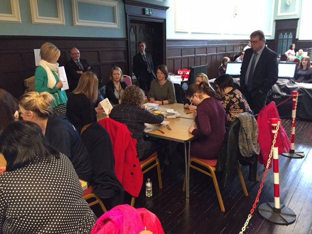 Crofting Elections 2017 - Count at Stornoway Town Hall
