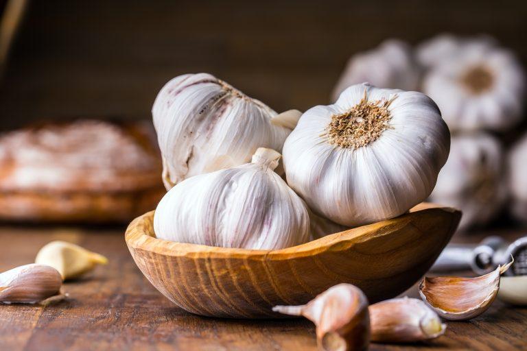 dental health garlic