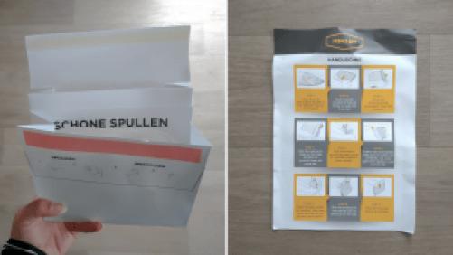 review mensam stoma envelop