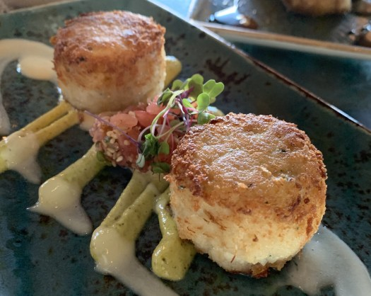Photo of scallops at the Hyatt Resort in Kauai