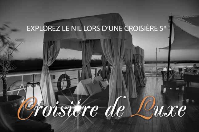 Croisière Nil luxe 5 étoiles