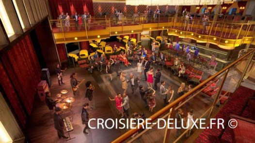 Hall de dance au Quantum of the Seas