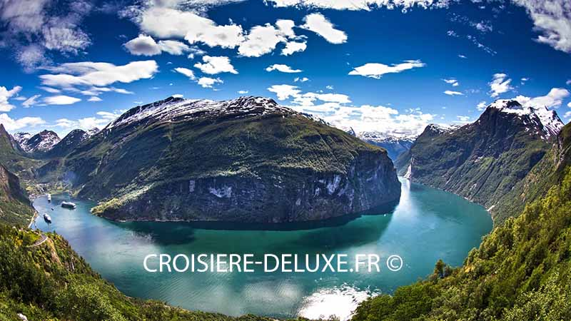 croisière fjord norvege