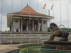 Croisière tour du monde Escale à Colombo au Sri Lanka Independance Mémorial Hall