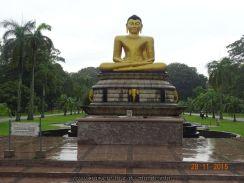 Croisière tour du monde Escale à Colombo au Sri Lanka Le ParcViharamahadevi