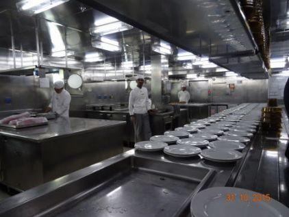 Visite des cuisines du Luminosa
