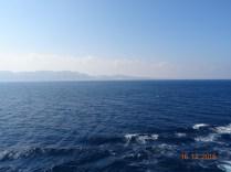 Navigation en direction de Suez
