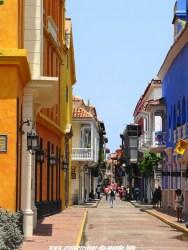 Escale à Cartagena en Colombie Quartier coloniaux