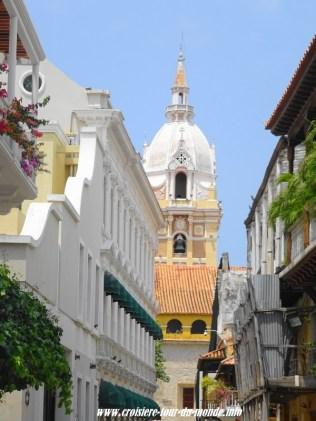 Escale à Cartagena en Colombie la vieille ville