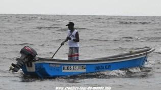 Escale à Cartagena en Colombie pêcheur