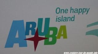 Escale à Oranjestad Aruba One happy Island