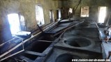 Escale à St Georges île de la Grenade les cuves de la distilerie