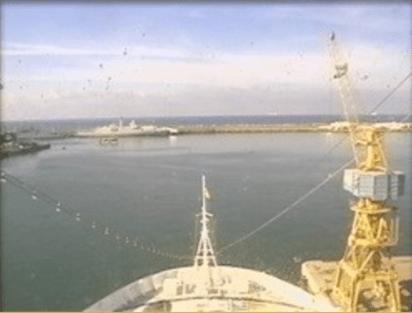 Croisière tour du monde Austral 2017 Le Costa Luminosa à Casablanca