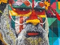 La croisière tour du monde austral 2017 de Claudine et Jean-Luc Le quartier de Street Art
