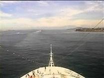 Croisière tour du monde Australe 2017 Le Costa Luminosa en approche de Rio de Janeiro