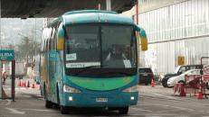 Croisière tour du monde Australe 2017 Escale à Valparaiso Chili départ du bus en excursion