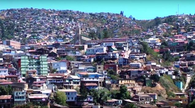 Croisière tour du monde Australe 2017 Escale à Valparaiso Chili