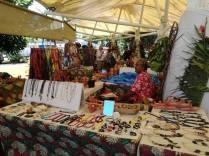 Croisière tour du monde Australe 2017 Anna Le Marché de Papeete à Tahiti