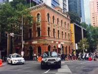 Croisière tour du monde Australe 2017 Anna et le Costa Luminosa en escale à Sydney