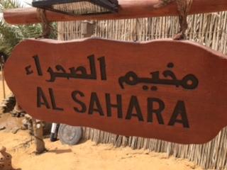 Jacques Charles en Escale pour la visite de Dubaï et de son désert