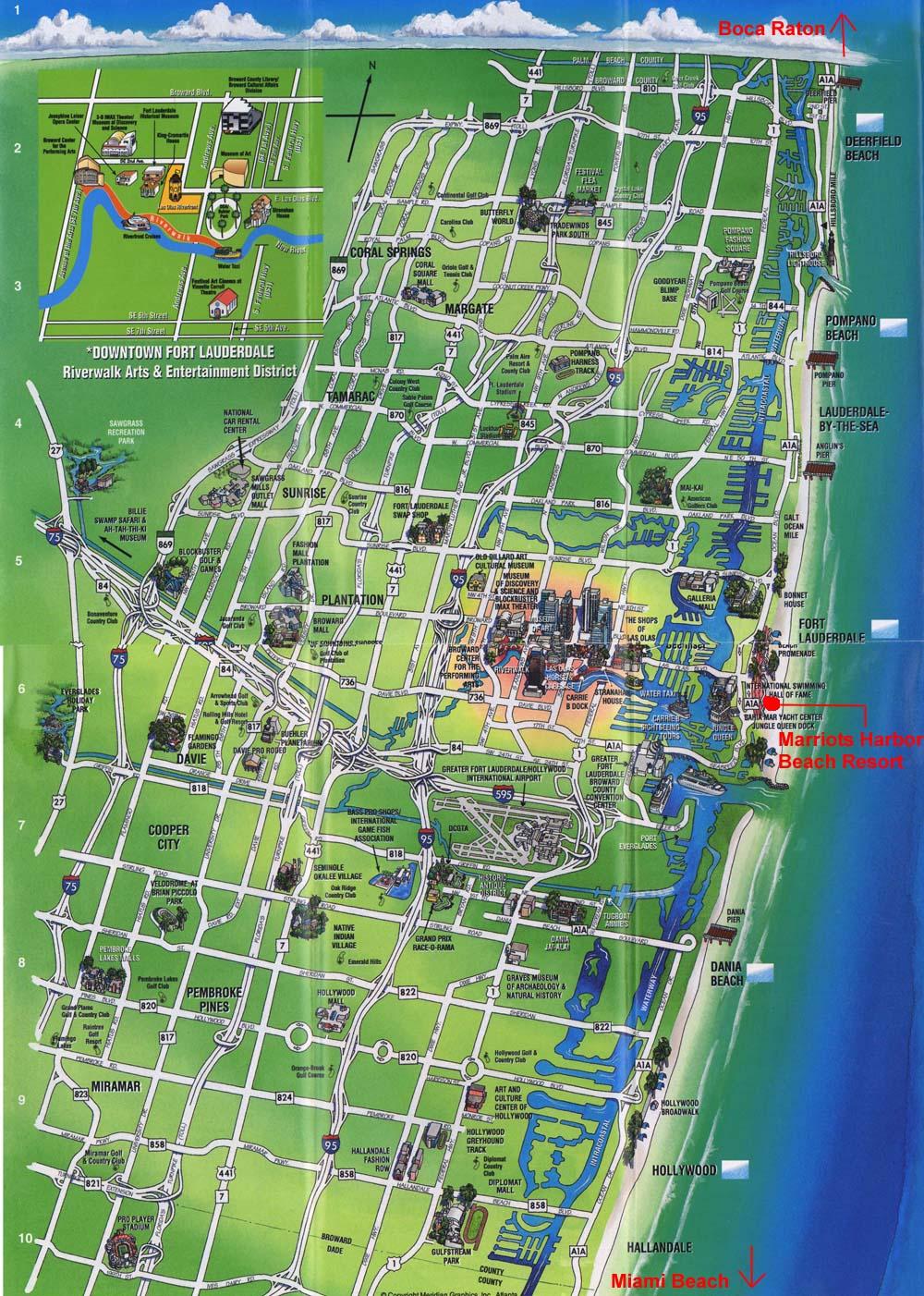 Prparer Son Escale Fort Lauderdale En Floride Aux USA