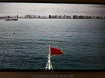 Le Queen Victoria arrive à Fortaleza webcam avant