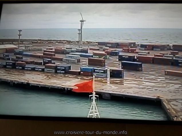 Le Queen Victoria arrive à Fortaleza webcam avant 2