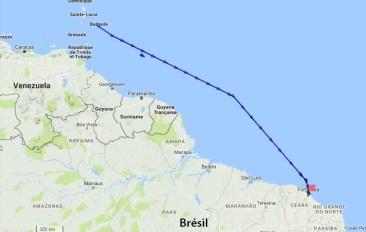 Le Queen Victoria fait désormais route vers fortaleza au Brésil
