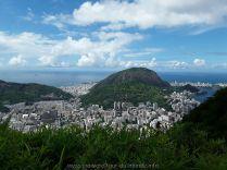 Escale à Rio de Janeiro au Brésil Vue impressionnante sur la baie de Rio de Janeiro