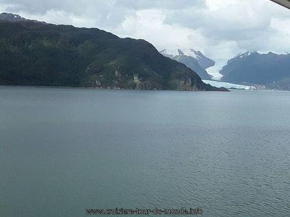 Glaciers et Escale à Puerto Montt Chili