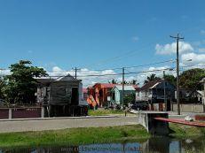 Escale à Belize city au Belize