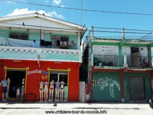 Escale à Belize city au Belize