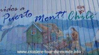 Croisière tour du monde 2019 escale à Puerto Montt
