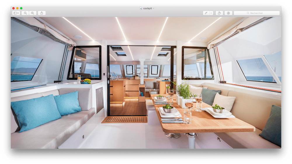 Nouveau catamaran de croisiere, un Open 46