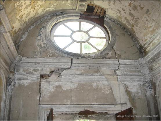 Chapelle des Ursulines - intérieur avant rénovation