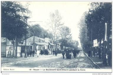 Boulevard Saint Hilaire pdt la Foire