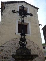 Les Aires - Place de l'église - Croix de Mission (2)