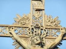 Tourbes - Croix de mission - Place de l'église (2)