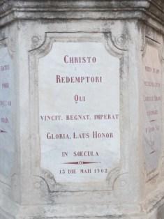 Tourbes - Croix de mission - Place de l'église (3)