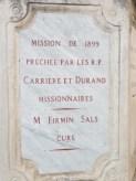 Tourbes - Croix de mission - Place de l'église (4)