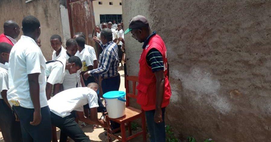 Croix-Rouge du Burundi fait la promotion de l'hygiène