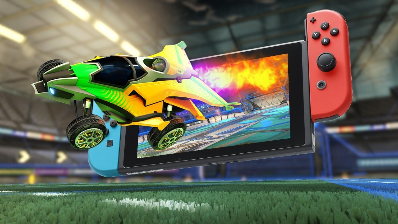 Versão Nintendo Switch de Rocket League terá carros de Mario e Metroid